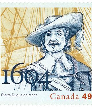 Pierre Dugua de Mons 1560 (?) - 1628